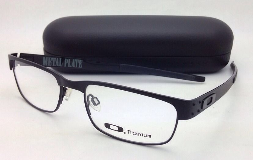 b9d5acf9b6 S l1600. S l1600. Previous. New OAKLEY Titanium Eyeglasses METAL PLATE  22-198 53-18 140 Matte Black Frames · New OAKLEY Titanium ...