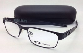 New OAKLEY Titanium Eyeglasses METAL PLATE 22-198 53-18 140 Matte Black ... - $249.99