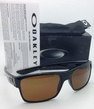 Authentic OAKLEY Sunglasses TWOFACE OO9189-03 60-16 Black w/ Dark Bronze lenses - $139.95
