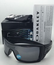 Polarized OAKLEY Sunglasses BATWOLF OO9101-35 Matte Black Ink w/ Black Iridium