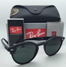 New RAY-BAN Sunglasses RB 2180 601/71 49-21 145 Black Frame w/ Green-Grey Lenses