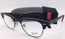 New RAY-BAN CLUBMASTER Rx-able Eyeglasses RB 5154 2077 49-21 Matte Black Frames