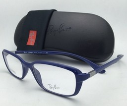 New RAY-BAN Eyeglasses LITEFORCE RB 7037 5431 53-17 145 Shiny Dark Blue Frames