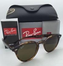 New RAY-BAN Sunglasses RB 2180 710/73 49-21 Dark Havana Frame w/ Brown Lenses