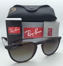 Polarized Ray-Ban Sunglasses ERIKA RB 4171 710/T5 Havana Frames w/Brown Gradient