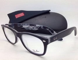 New RAY-BAN Rx-able Eyeglasses Frames RB 5184 5405 Matte Black / Text Camouflage