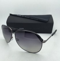 MARC By MARC JACOBS Sunglasses MMJ 484/S LNTWJ Black Ruthenium w/ Grey Polarized