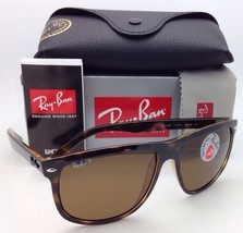 Polarized RAY-BAN Sunglasses RB 4147 710/57 60-15 Light Havana with Brown Lenses