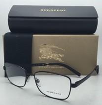 New BURBERRY Eyeglasses B 1259-Q 1007 54-16 135 Matte Black Frame w/Clear Lenses