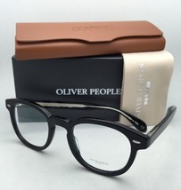 New OLIVER PEOPLES Eyeglasses SHELDRAKE OV 5036 1492 47-22 Black Frame w/ Clear