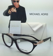 New Michael Kors Eyeglasses Zermatt Mk 4020B 3040 54-16 Pink Sparkle & Rose Gold - $239.98