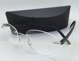 SILHOUETTE Eyeglasses SPX SIGNIA 5376 00 6052 5379 Grey Steel w/ Clear l... - $179.95