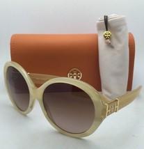 New TORY BURCH Sunglasses TY 7072 1338/13 Blonde Tortoise Frame w/Brown Gradient