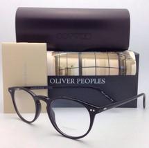 New Oliver Peoples Eyeglasses Riley R Bk Ov 5004 1005 45-20 Black Frame w/ Demo - $299.99