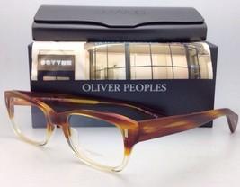Oliver Peoples Eyeglasses Wacks Ov 5174 1239 Amber Tortoise Buff Gradient Frame - $299.95