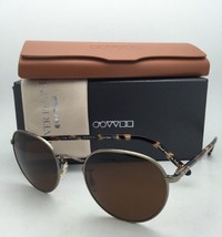 Polarized Oliver Peoples Sunglasses Hassett Ov 1203-S 5039N9 Antique Gold w/Java - $524.95