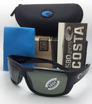 Polarized COSTA Sunglasses CAT CAY AT 11 Black Frame w/ 580 Grey lenses - $199.95