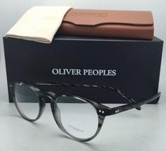 New Oliver Peoples Eyeglasses Riley R Strm Ov 5004 1002 47-20 Storm Grey Frame - $299.99