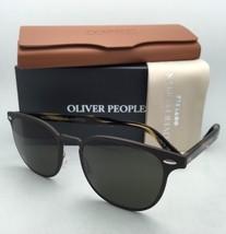Oliver Peoples Sunglasses Sheldrake Metal 1179-S 523471 Brushed Brown w/G15 Lens - $369.95