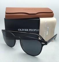 New Oliver Peoples Sunglasses Sheldrake Metal 1179-S 523287 Brushed Black w/Grey - $369.95