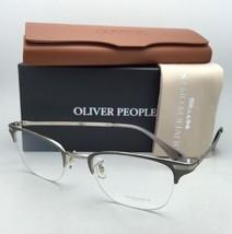 New Oliver Peoples Eyeglasses Walston Ov 1176 5230 49-21 Pewter & Silver Frames - $339.95