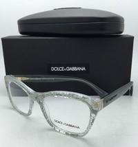 ef585b1de029f New DOLCE GABBANA Rx-able Eyeglasses DG 3198 2855 54-18 Clear Frame w