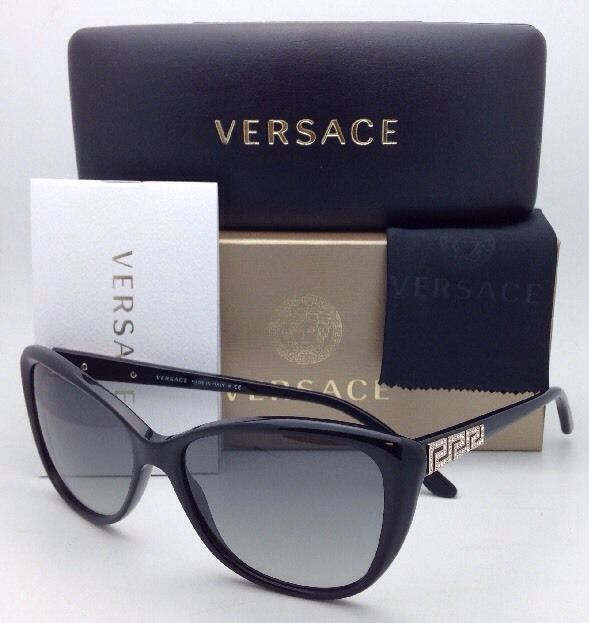 a4c2a865d1 S l1600. S l1600. Previous. New VERSACE Sunglasses VE 4264-B GB1 11 Black  Cat Eye Frame w  · New VERSACE Sunglasses ...