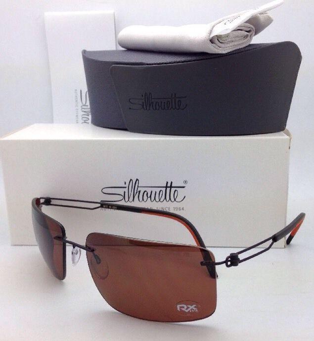 e27cf895f49 Titanium SILHOUETTE Sunglasses 8672 6201 and 11 similar items. S l1600