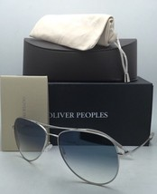 OLIVER PEOPLES PHOTOCHROMIC Sunglasses KANNON OV 1191-S 5036/3F Silver with Blue