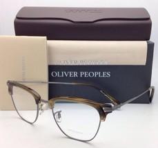 New Oliver Peoples Eyeglasses Banks Ov 1145 5076 49-20 Tortoise w/ Pewter Frame - $299.99
