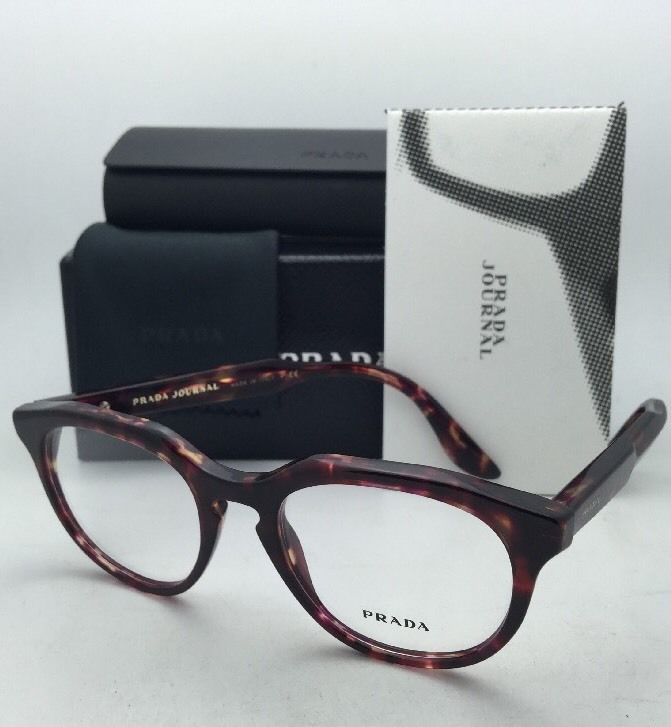 947dced18a New Prada Journal Eyeglasses Vpr 13S UBO-1O1 and 50 similar items. S l1600