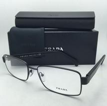 118ff896cbf New PRADA Eyeglasses VPR 53R 1BO-1O1 56-17 Matte Black Frames w