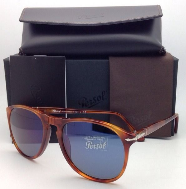dd065f8c42c1 New PERSOL Sunglasses 9649-S 96/56 Terra Di and 35 similar items