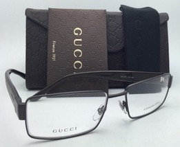New GUCCI Eyeglasses GG 2217 L13 55-16 Cocoa Brown Frame w/ Clear Demo Lenses