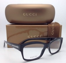 New GUCCI Eyeglasses GG 3205 Y6C 53-16 140 Black & Clear Frame w/ Clear Lenses