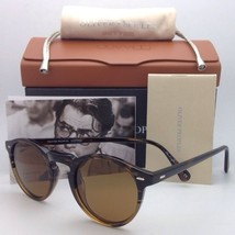 Oliver Peoples Sunglasses Gregory Peck Sun 5217-S 1001/53 Tortoise 8108 w/ Brown - $364.99