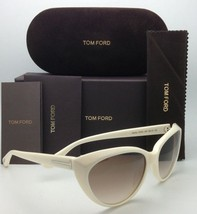 New Tom Ford Sunglasses Martina Tf 231 25F Ivory White Frame w/ Brown Gradient - $339.95