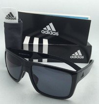 Polarized ADIDAS Sunglasses MATIC A426 00 6050 Shiny Black Frame w/ Grey lenses