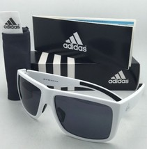New ADIDAS Sunglasses MATIC A426 00 6051 59-15 Matte White Frame w/ Grey Lenses