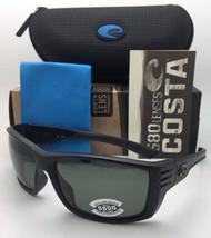 Polarized COSTA Sunglasses CORTEZ CZ 01 Blackout Frame w/ 580 Grey Lenses