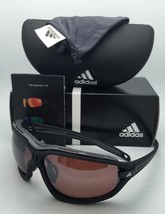 Polarized ADIDAS Sunglasses EVIL EYE EVO PRO L A193 6055 Black & Grey w/ Mirror