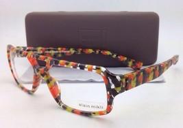 d97cbdb9c4d New ALAIN MIKLI Eyeglasses AL 1127 3034 55-15 Clear w Orange-Brown