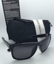 New Polarized VONZIPPER Sunglasses VZ LOMAX Black Frame w/ VPG Grey lenses