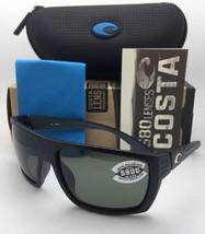 Polarized COSTA Sunglasses HAMLIN HL 11 Matte Black Frame w/ 580 Grey Lenses