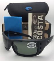 Polarized COSTA Sunglasses PERMIT PT 01 Blackout Frame w/ 580 Grey Lenses