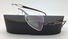 New SILHOUETTE Eyeglasses 6689 6054 50-19 Purple w/ Clear Demo lenses - $269.95