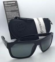 New Polarized VONZIPPER Sunglasses VZ SPEEDTUCK Black Frame w/ VPG Grey lenses