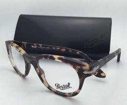 New PERSOL Rx-able Eyeglasses 3052-V 9005 50-20 Tabacco Virginia Havana Frames