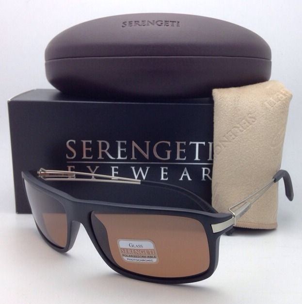25b0cc24a5b0c S l1600. S l1600. Previous. SERENGETI PHOTOCHROMIC POLARIZED Sunglasses  7765 Rivoli Black Frame w  Drivers