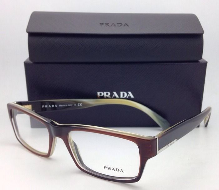 57e91d2c090 New PRADA Eyeglasses VPR 06O EAP-1O1 53-17 and 50 similar items